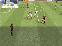 une photo d'écran de Sega Worldwide Soccer 2000 Euro Edition sur Sega Dreamcast